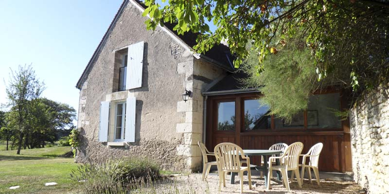 Gite with pool, Montrésor, Indre et Loire, France, sleeps 4, 5, 6