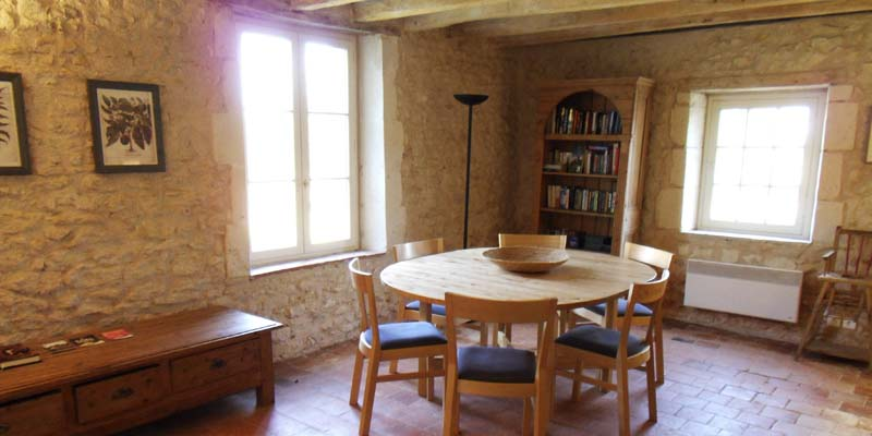 Montrésor gite self catering holiday accommodation, Indre et Loire, France
